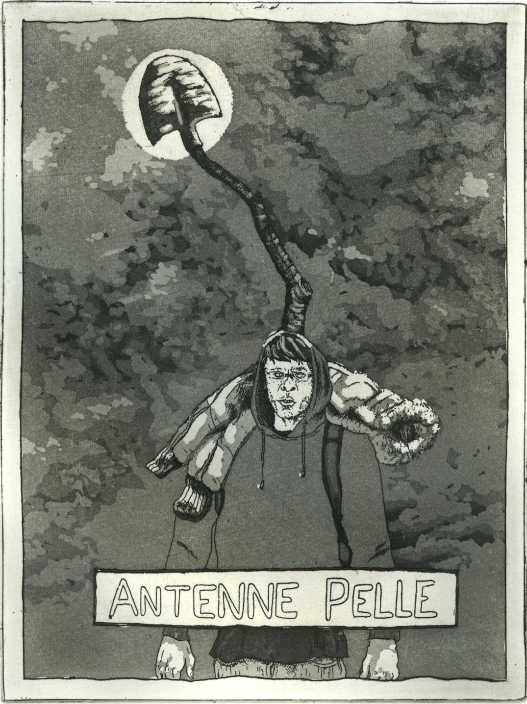 Antenne pelle